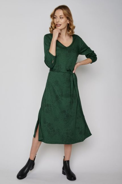 Greenbomb Šaty more zelené