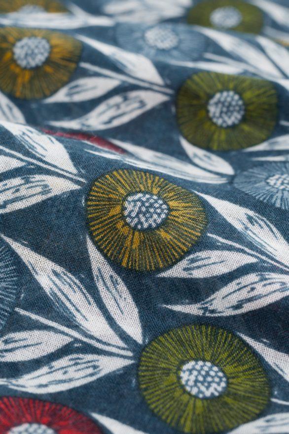 Seasalt Cornwall kruhový šál pretty flower head