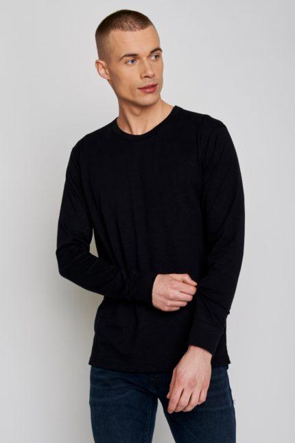 Greenbomb tričko s dlouhým rukávem raw černé