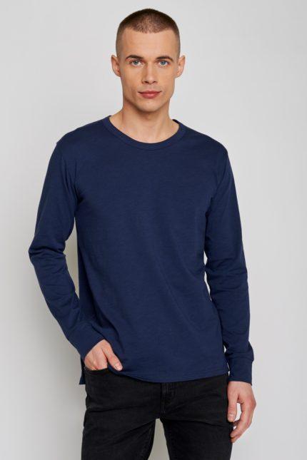 Greenbomb tričko s dlouhým rukávem raw modré