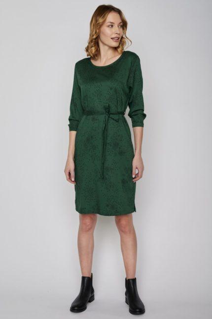 Greenbomb Šaty swish zelené