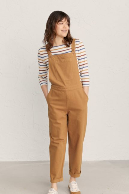 Seasalt Cornwall kalhoty s laclem wheatsheaf ginger