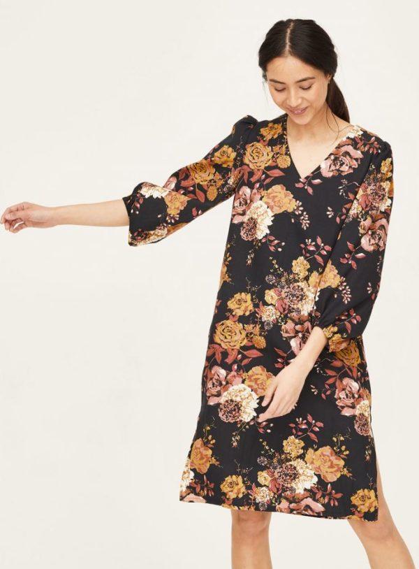 WWD6082-BLACK--Rosetti-Organic-Cotton-Bell-Sleeve-Dress-in-Black-1