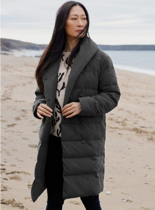 Seasalt Cornwall kabát ashill slate